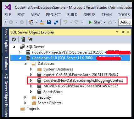 VS2013 Not Expanding LocalDB In SQL Server Object Explorer Result