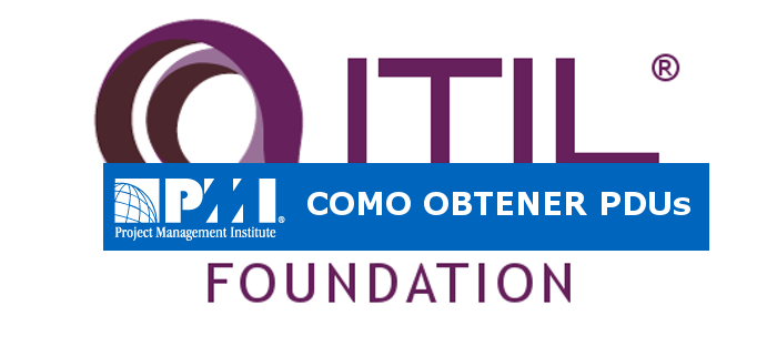 Como Obtener PDUs Del ITIL Foundation