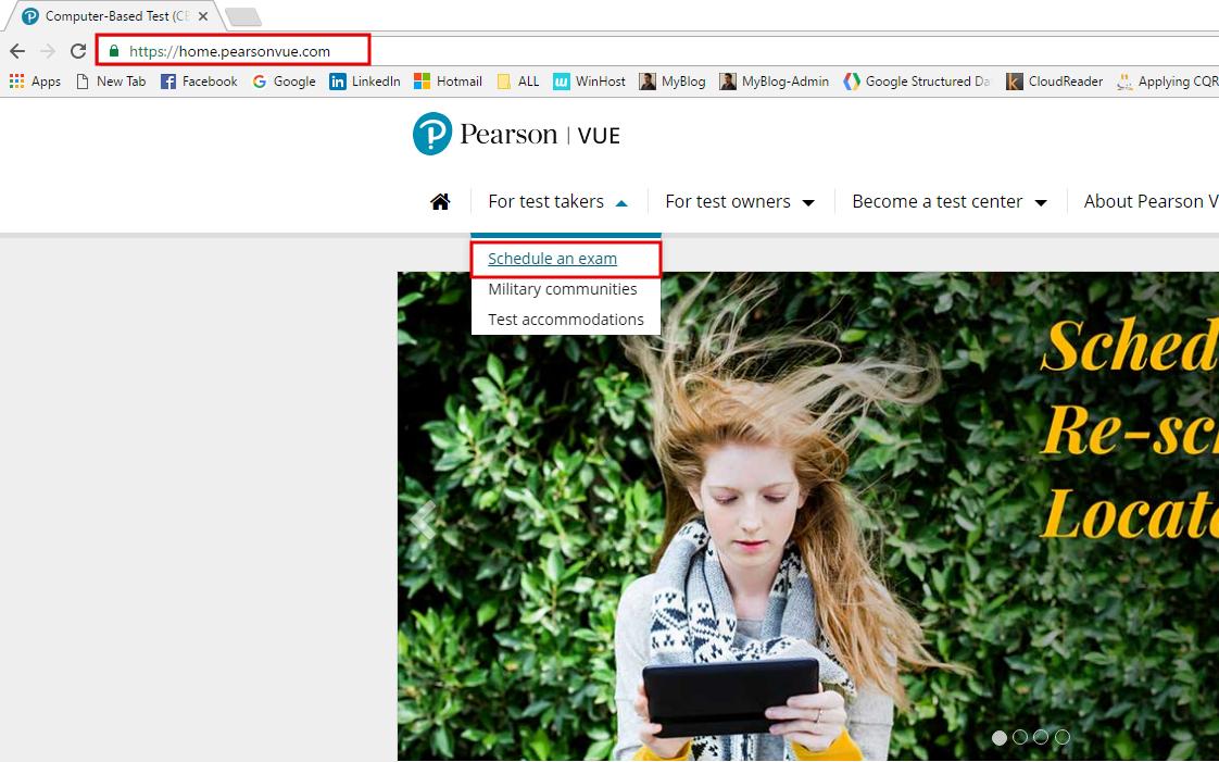 Como agendar el examen ITIL Foundation - Homepage