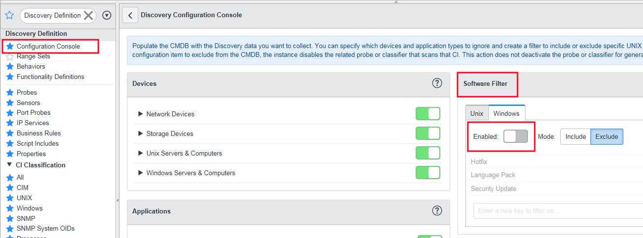 Como agregar los Security Update al CI - Configuration Console
