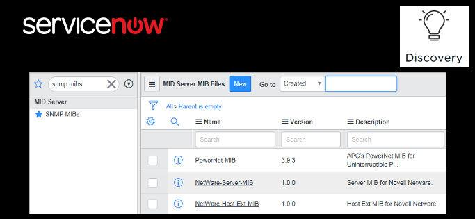 Error al agregar un SNMP MIB - Header